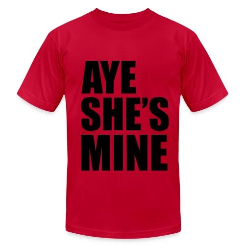 She's Mine Men's TShirt - Men's  Jersey T-Shirt