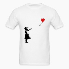 KCCO - Balloon Girl Banksy T-Shirts