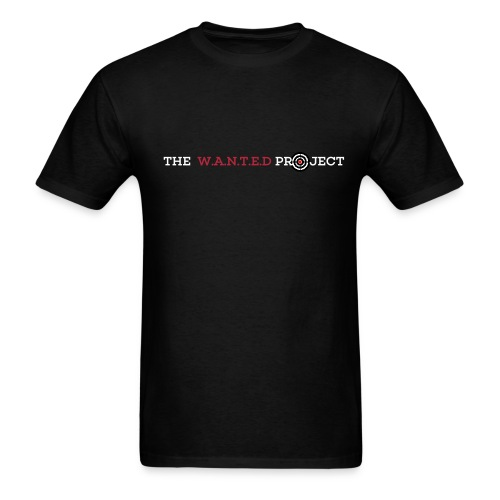 The W.A.N.T.E.D PROJECT T-Shirt  - Men's T-Shirt
