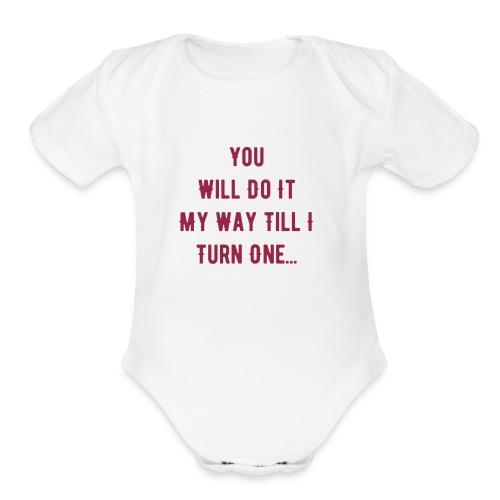 body suit - Organic Short Sleeve Baby Bodysuit