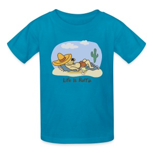 Siesta Dog - Kids' T-Shirt