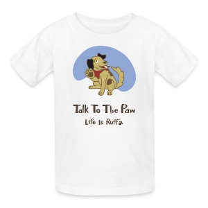 Talk to the Paw kid's t-shirt - Kids' T-Shirt