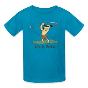 Golf Dog - Kids' T-Shirt