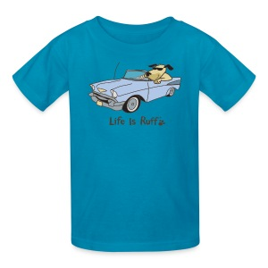 Cruisin Dog - Kids' T-Shirt