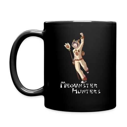 Meownster Hunters Mug - Full Color Mug