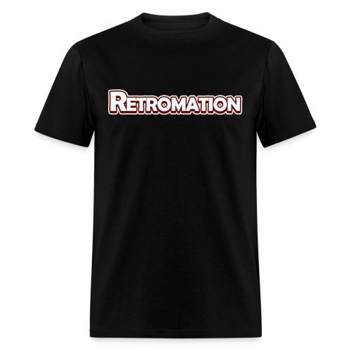 Retromation Text T-Shirt - Men's T-Shirt