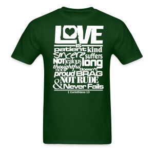 LOVE IS - Men - Men's T-Shirt