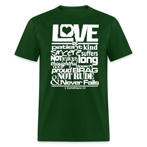 LOVE IS - Men - Men's T-Shirt