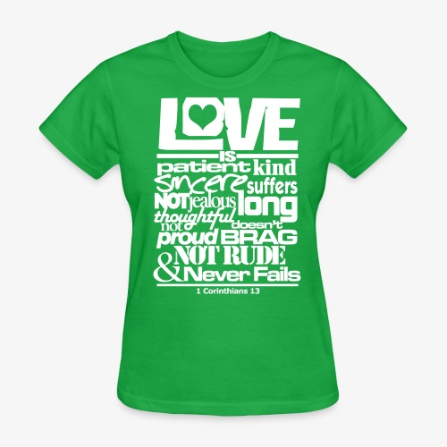 LOVE IS - Women's T-Shirt
