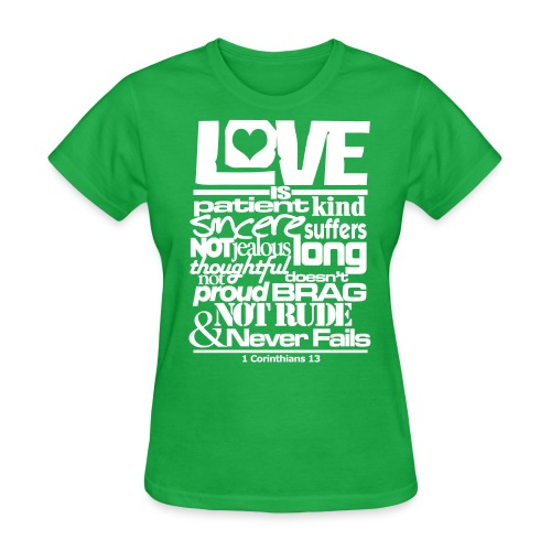 LOVE IS - Women - Women's T-Shirt