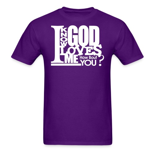 God Loves Me - Men - Men's T-Shirt