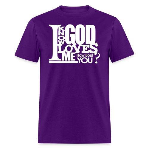 God Loves Me - Men - Men's T-Shirt