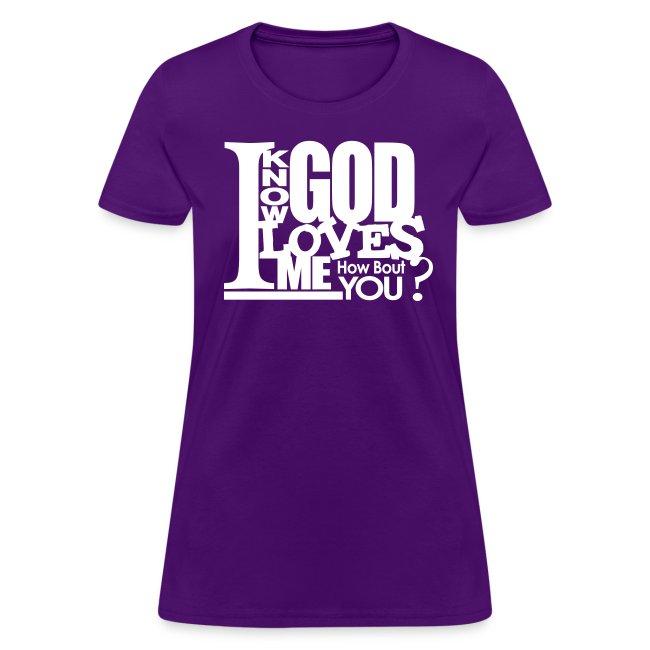 God Loves Me - Women