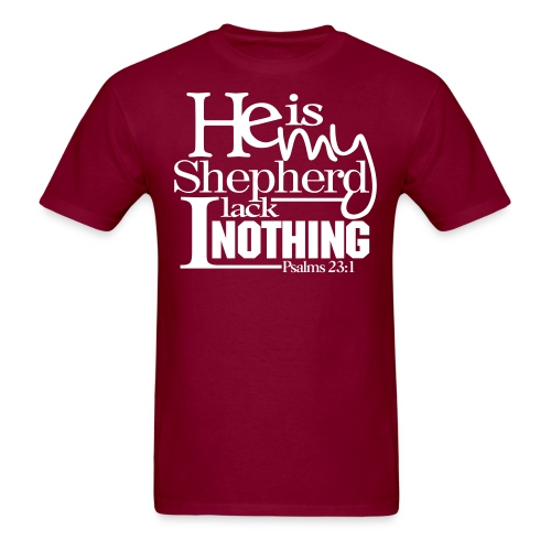 He is My Shepherd - Men - Men's T-Shirt