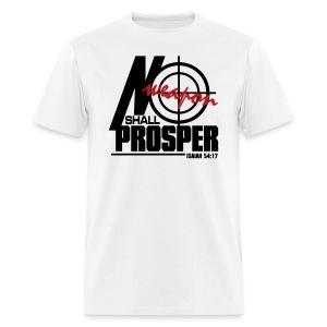 No Weapon Shall Prosper - Men - Men's T-Shirt