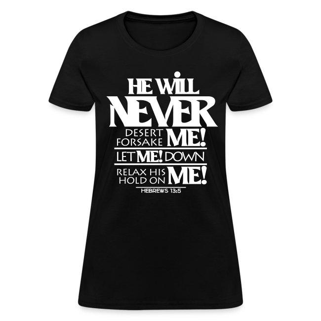HE Will Never - Women