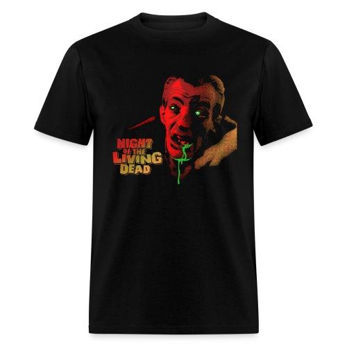Night of The Living Dead Cemetery Zombie Men's Shirt - Men's T-Shirt