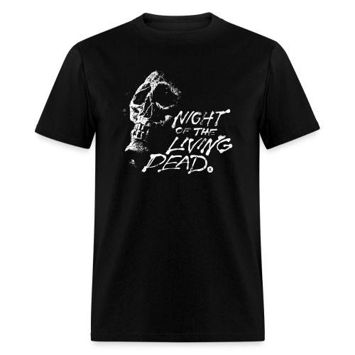 Night of The Living Dead Skull Logo Men's T Shirt - Men's T-Shirt