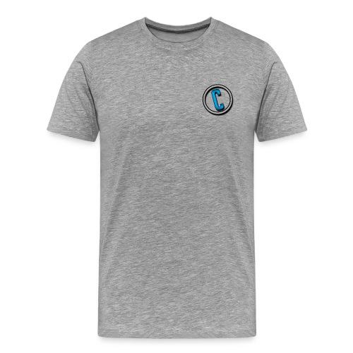 ContortedYT Minimal-Branding - Men's Premium T-Shirt