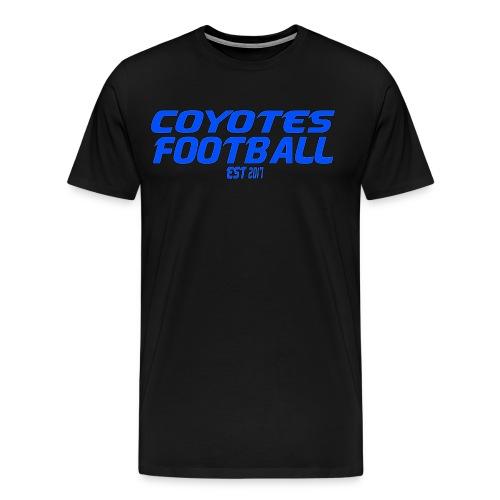 Coyotes Football Tee - Men's Premium T-Shirt
