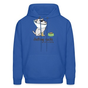 Dieting sucks - Men's Hoodie