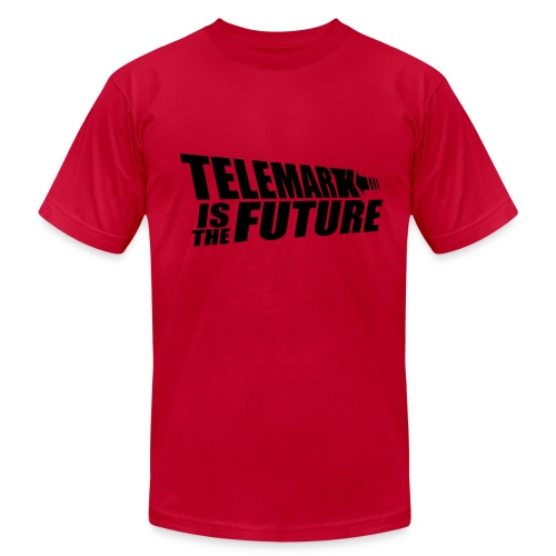 Telemark is the Future - Men's Fine Jersey T-Shirt
