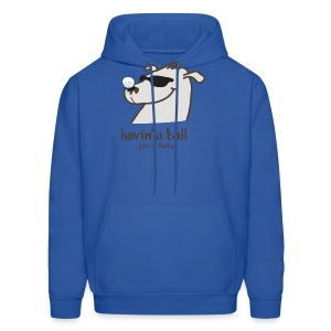 Doggie golf Ball - Men's Hoodie