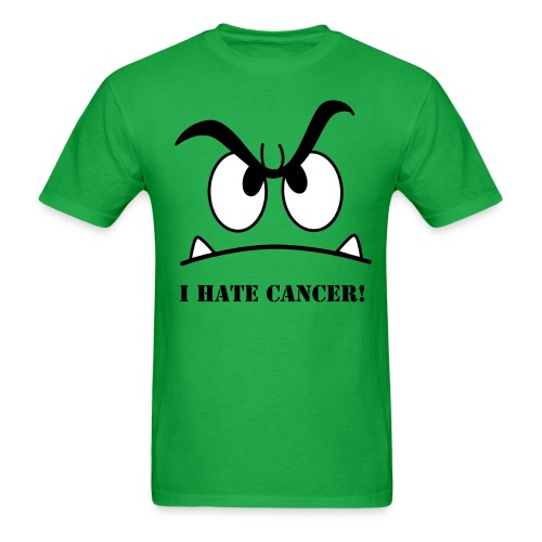 I HATE CANCER! - Men's T-Shirt