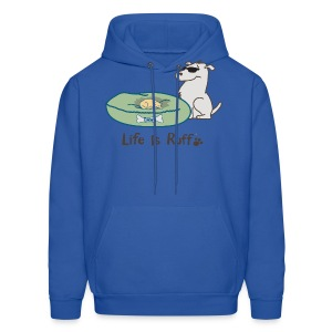 Cat/Dog Bed - Men's Hoodie