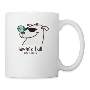 Doggie Tennis Ball - Coffee/Tea Mug