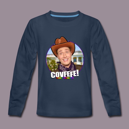 COVFEFE KID'S LONG SLEEVE T - Kids' Premium Long Sleeve T-Shirt