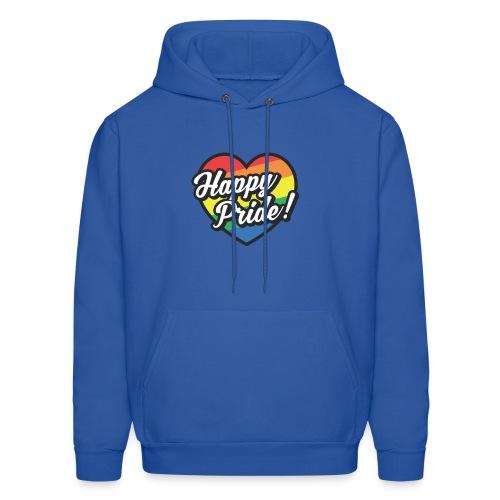 Happy Pride hoodie - Men's Hoodie
