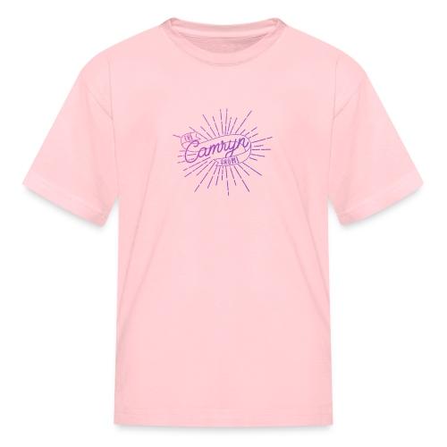 The Camryn Show Kids Pink T-shirt  - Kids' T-Shirt