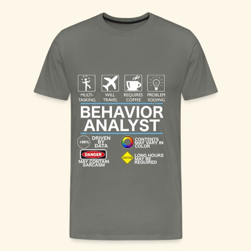 Behavior Analyst - Men's Premium T-Shirt