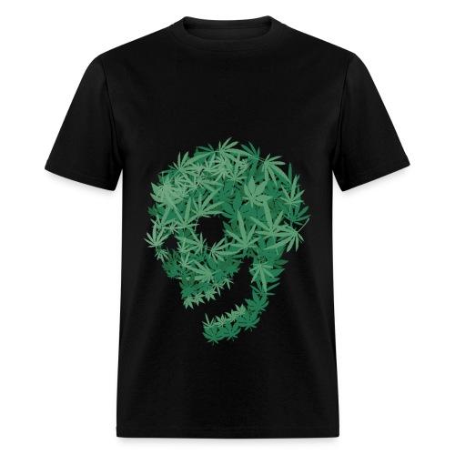 Weed Skull T - Men's T-Shirt