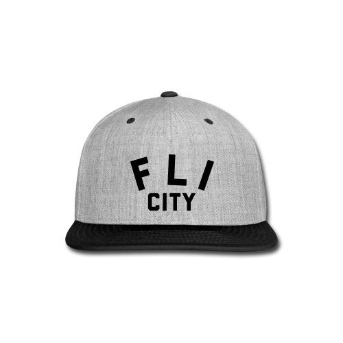 FLI CITY - Snap-back Baseball Cap