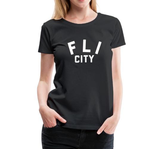 FLI CITY - Women's Premium T-Shirt
