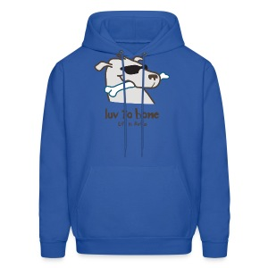 Dog Bone - Men's Hoodie