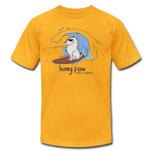 Hang Paw - Men's T-Shirt by American Apparel