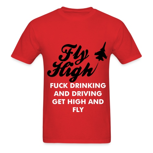 Get High And Fly - Men's T-Shirt