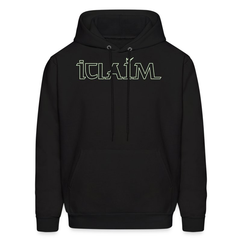 Light In The Darkness Hooded Sweatshirt (Glows In The Dark) - Men's Hoodie