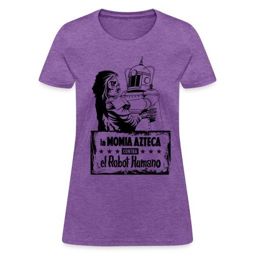 Mummy vs Robot - Women's T-Shirt