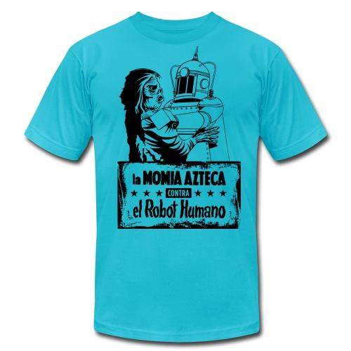 Mummy vs Robot - Men's  Jersey T-Shirt
