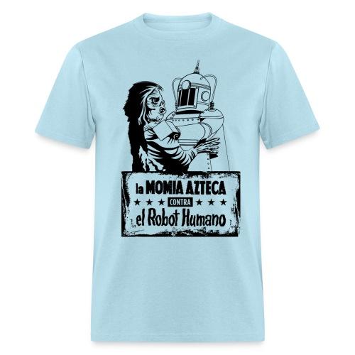 Mummy vs Robot - Men's T-Shirt