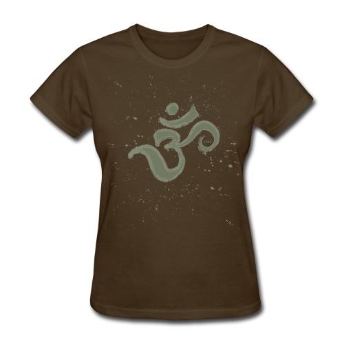 Om Splatter - Women's T-Shirt