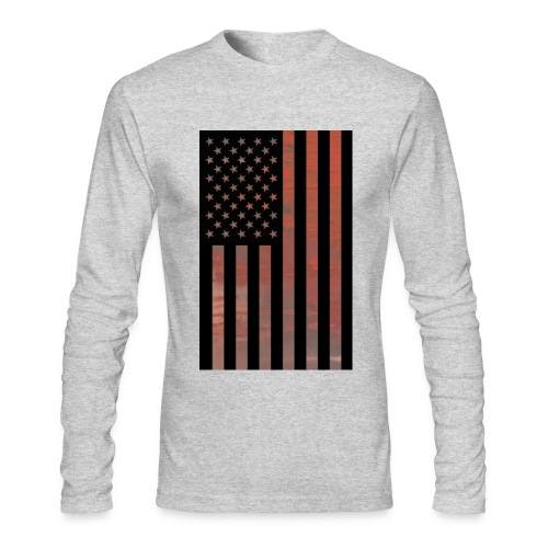 USA 9/11  - Men's Long Sleeve T-Shirt by Next Level