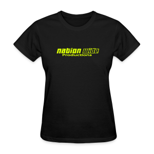 Neon Yellow on Black Women's Tee - Women's T-Shirt