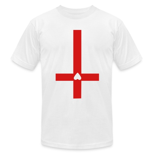 Cross-hearted - Men's  Jersey T-Shirt