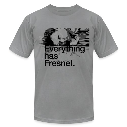 Lon Grohs - Everything has Fresnel - Slate Gray - Men's Fine Jersey T-Shirt