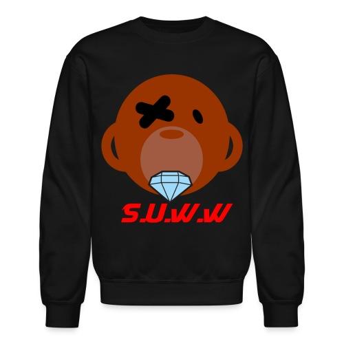 S.U.W.W Diamond Monkey Crewneck - Crewneck Sweatshirt